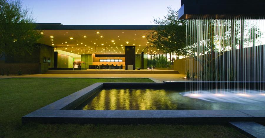 Exterior del Phoenix Art Museum. Foto: downtownphoenixvenues.com