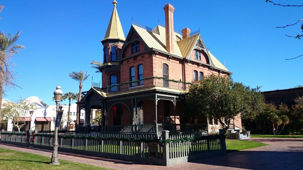 Rosson House, la casa victoriana de Queen Anne, de 1895 que completamente restaurada interpreta la historia de Phoenix. Foto: visionsoftravel.org