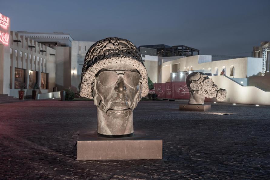 El Centro Cultural Katara compagina la tradición con la vanguardia en arte. Incluye desde una mezquita y tradicionales pajareras a modernas galerías de arte y edificios para exposiciones, conciertos, ópera y obras teatrales. Foto: facebook de Visit Qatar