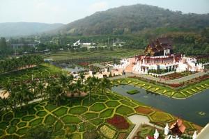 Royal Pavilion (Ho Kham Luang) En Royal Park Ratchaphruek de Chiang Mai