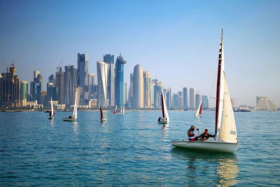Durante el año se realizan distintas celebraciones y campeonatos deportivos para las familias. Foto: facebook de Visit Qatar