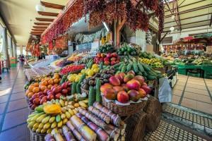 Gastronomía de Madeira en los mercados