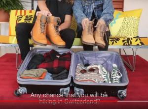 hacer la maleta KLM