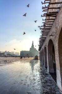Vistas desde el mercado de Alwkrẗ. Foto: facebook de Visit Qatar