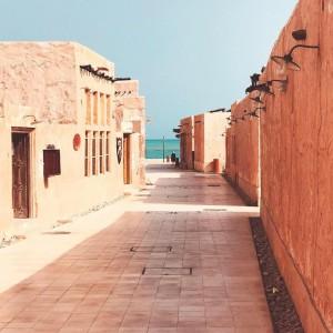 El nuevo mercado de Alwkrẗ, un agradable entorno donde disfrutar de las compras, restaurantes y de la playa. Foto: facebook de Visit Qatar