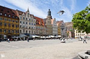 La Plaza Mayor de Breslavia. Foto: Visitwroclaw.eu