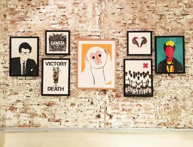 Algunas de las obras a la venta. Foto: Gunter Gallery