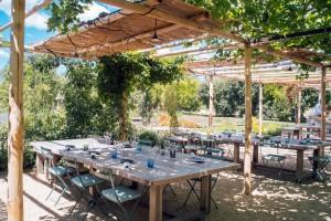 Restaurante La Chassagnette, en plena Provenza