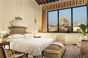 Vistas al Duomo de Florencia desde la Panoramic Suite