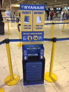 Medidor de equipajes