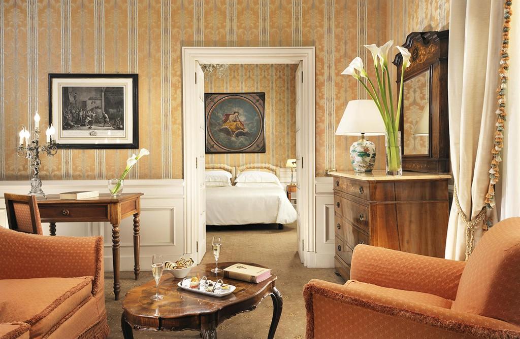 Una de las suites del hotel