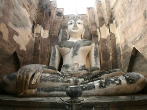El enorme Buda de Wat Si Chum