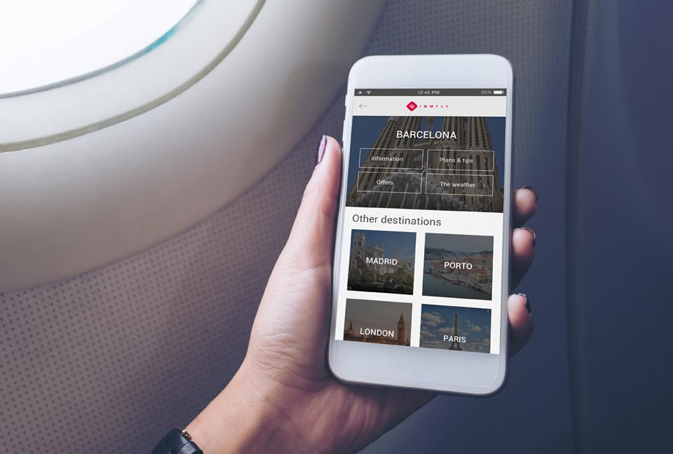 guías de viaje digitales Immfly