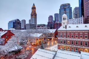 Invierno en Boston