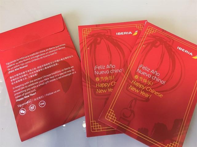 Iberia celebra el Año Nuevo Chino