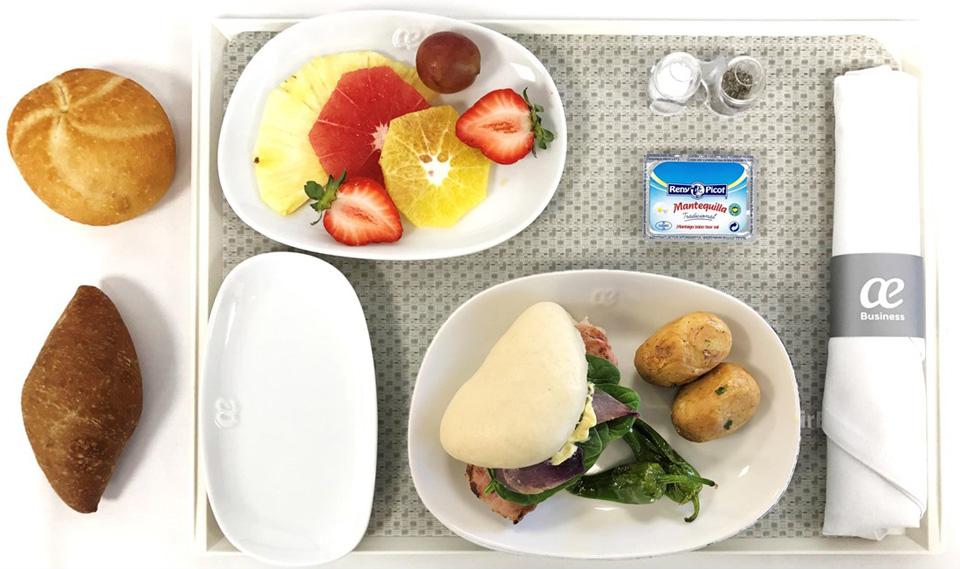 Menús Air Europa