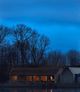 El edificio del comedor. Foto: Instagram Noma