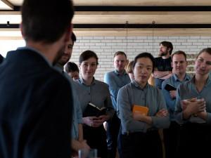 Reunión del equipo el día de la inauguración. Foto: facebook Noma