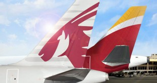 America Latina Qatar Airways e Iberia