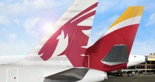 America Latina Qatar Airways e Iberia