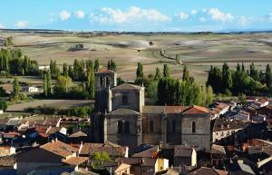 Vista de Peñalba de Castro.