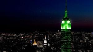 Nueva York, con su gran comunidad de neoyorquinos originarios de Irlanda, no falla ningún año.