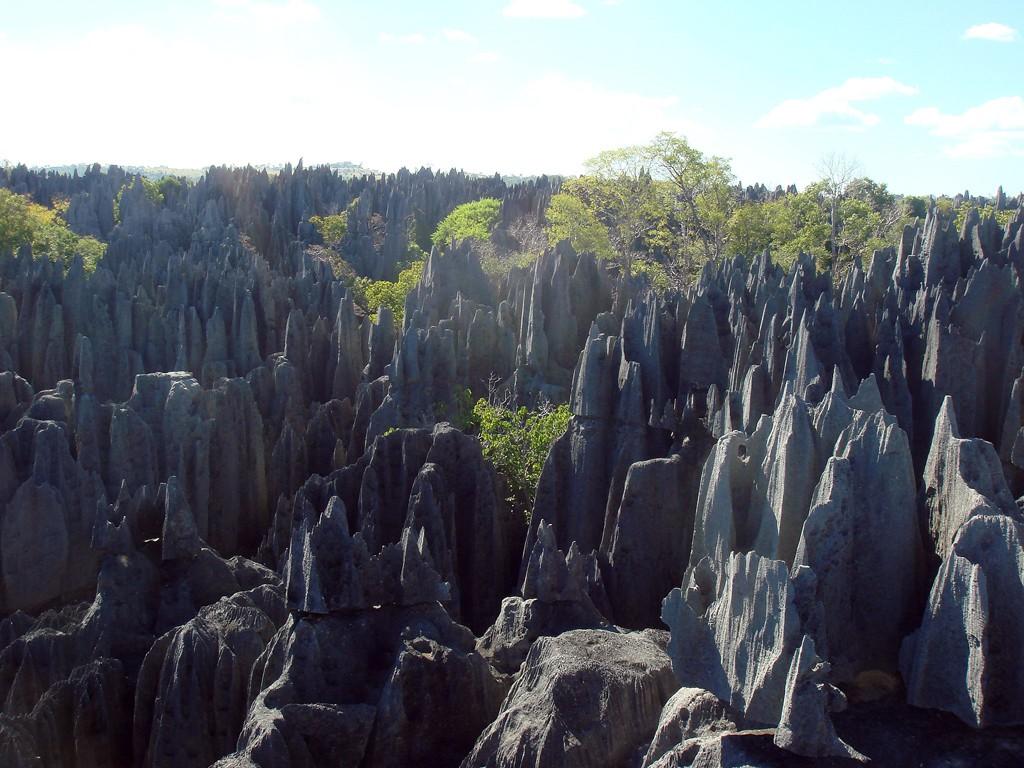Tsingy. Foto: Olivier Lejade, vía Wikimedia Commons.