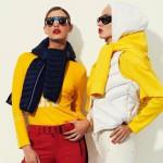 Dos de los modelos de la línea de mujer. Foto: SNOW magazine.