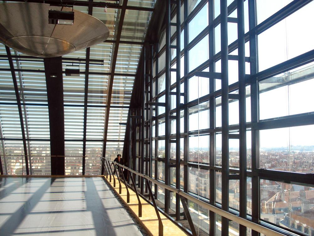 Lyon desde el edificio de la Ópera.