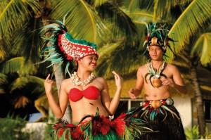 Isla de Tahití en la Polinesia Francesa