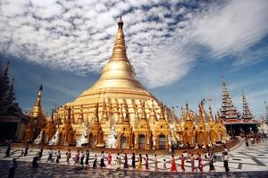 Yangón, antigua capital de Myanmar