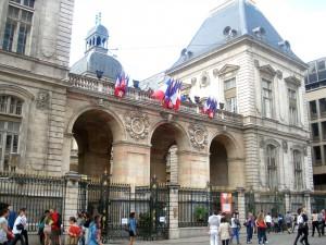Edificio del Ayuntamiento de Lyon.