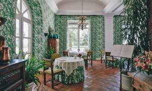 Restaurante El Jardín de Lutz. Foto: Finca Cortesín
