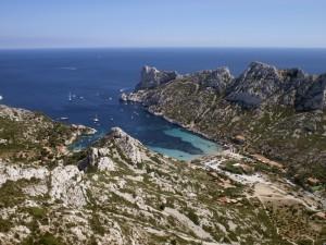 Al sur de Marsella se abre el parque nacional de Calanques. Foto: © Lamy para Marseille Tourisme.