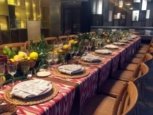 Todo listo en el Restaurante Arado para degustar Palma.