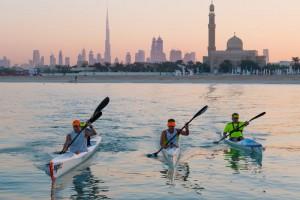 La oferta de actividades deportivas es grande en Dubai.