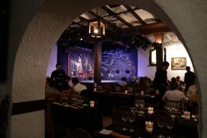 El restaurante Tablao, junto al escenario, tiene capacidad para más de 100 personas. Foto: © Paco Manzano