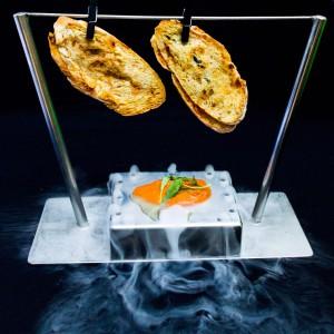 La creatividad es uno de los pilares de la propuesta culinaria de Inclán Brutal Bar.