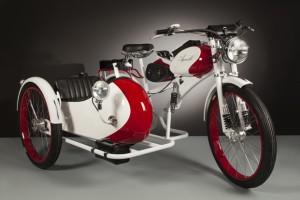 La bici eléctrica con sidecar de Agnelli.