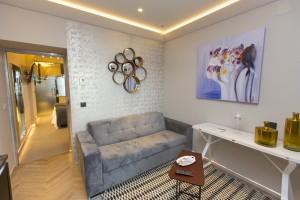 Cada apartamento tiene capacidad para cuatro personas.