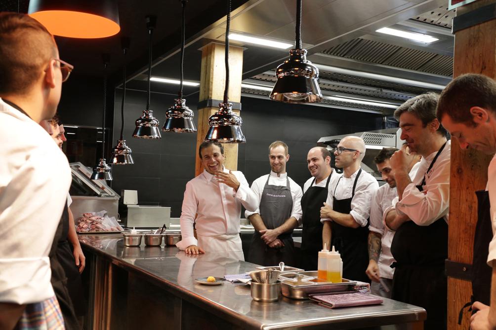 El chef vasco David García capitanea los dos restaurantes del tablao flamenco. Foto: © Paco Manzano