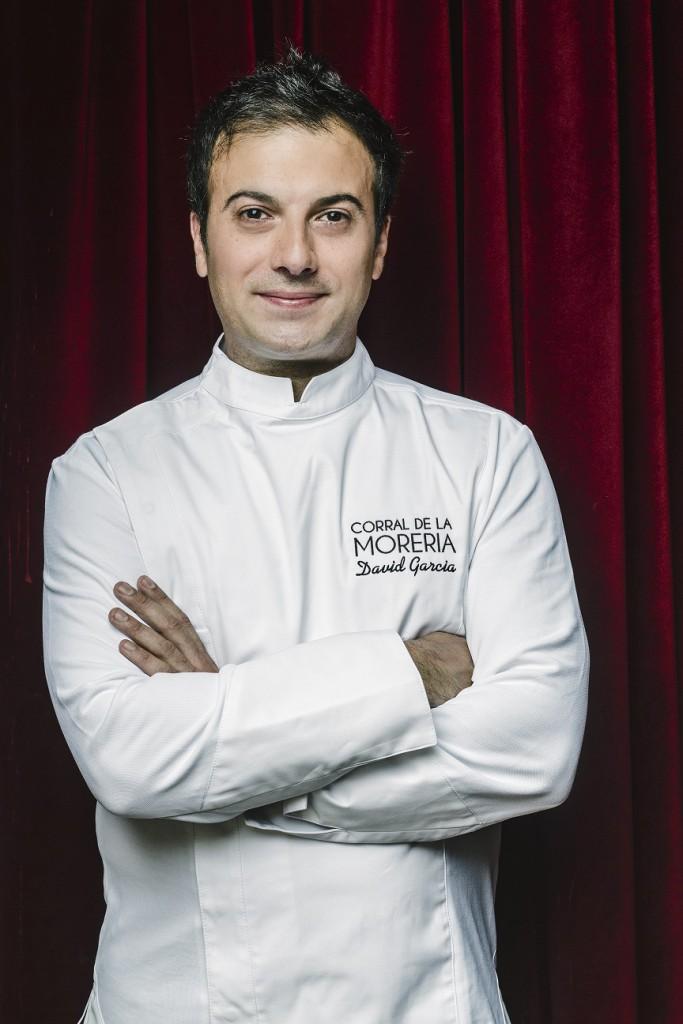 David García se ha formado con Martín Berasategui y en 2014 obtuvo una estrella Michelín como jefe de Cocina de Álbora.