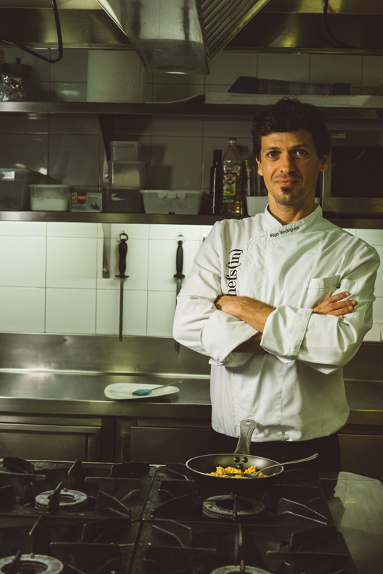 El chef bermeano Iñigo Rodríguez, ya hijo adoptivo de la isla pitiusa Ibiza.