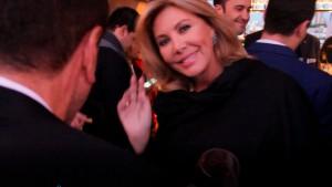 La actriz Norma Duval asistió a la fiesta de presentación.