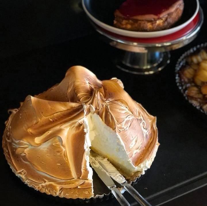 Tarte au Citron meringuée de la pastelería Gérard Mulot.