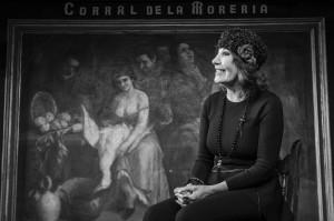 Blanca del Rey, Premio Nacional de Danza Flamenca, es la actual copropietaria y directora artística del Corral de la Morería. Foto: ©dreammadrid