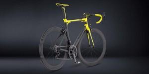 La bicicleta de carretera de Lamborghini.