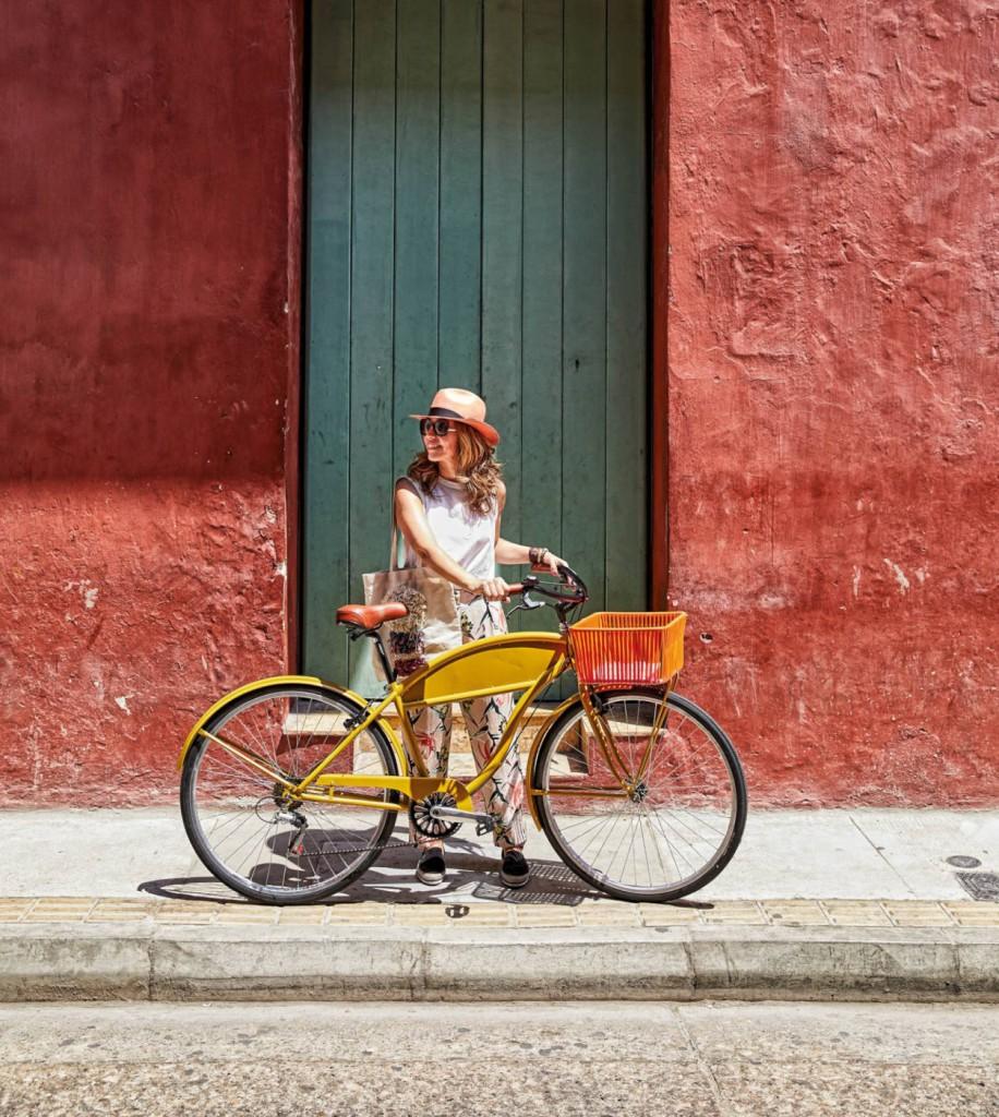 La bicicleta de paseo de aire retro con la que nos tienta Sebastian Herkner.