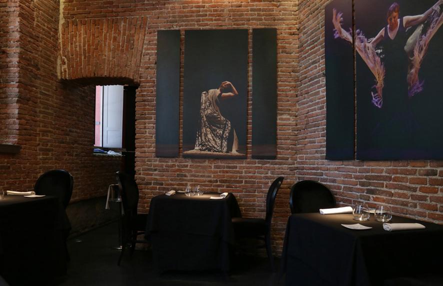 El nuevo restaurante gastronómico sólo tiene cuatro mesas y capacidad para ocho comensales.