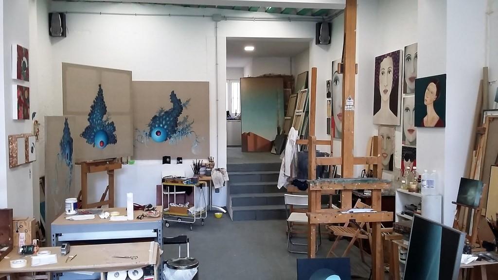 Los talleres o estudios de artista que se abren al público son aproximadamente 110.